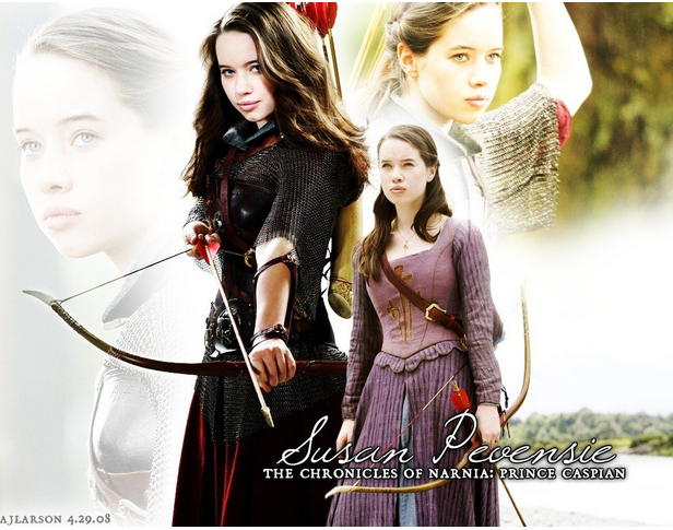 Susan Pevensie, Chronicles of Narnia, from http://www.fanpop.com/clubs/the-chronicles-of-narnia/images/8698224/title/susan-pevensie-fanart