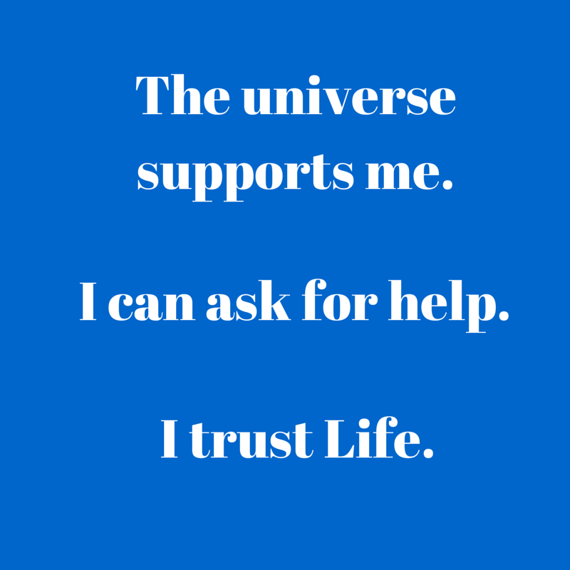 I can ask for help.