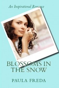 blossoms in the snow by paula freda