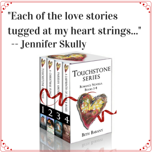 """Each of the love stories tugged at my heart strings..."" -- Jennifer Skully (Touchstone Series by Beth Barany)"