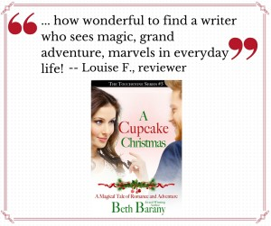 Quote from Louise F. for A CUPCAKE CHRISTMAS