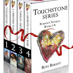 Touchstone Series: Romance Novella Books 1-4, plus a bonus short story