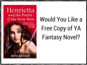 HEN3 would you like a free copy of a YA fantasy