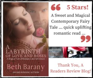 Thank You, A Readers Review Blog! Labyrinth (Touchstone #4) by Beth Barany