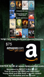 YA/NA Fairy Tales, Myths, and Legends Giveaway!