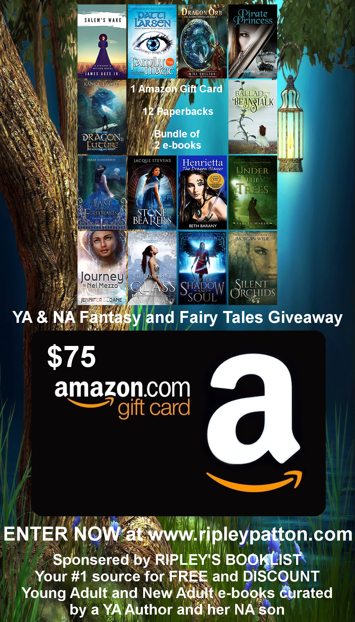 Check Out All The Cool Books And Prizes You Can Win!