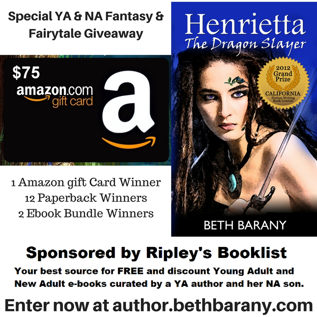 I'll Be Giving Away A Signed Paperback Copy Of Henrietta The Dragon Slayer,  The First Book In My Ya Fantasy Trilogy