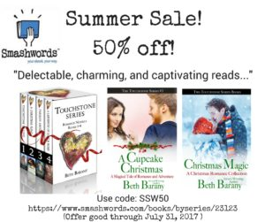 Touchstone series by Beth Barany, Summer Sale at Smashwords